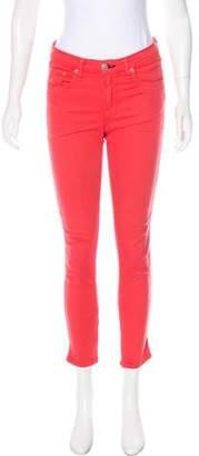 Rag & Bone Zipper Capri Mid-Rise Jeans