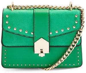 Topshop Studded Buckle Cross Body Bag