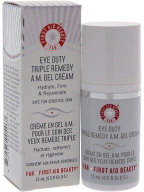 First Aid Beauty Eye Duty Triple Remedy A.M. Gel Cream Eye Gel 14.75 ml Skincare