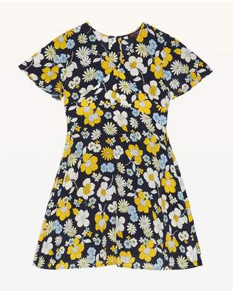 Juicy Couture Garden Floral Short Sleeve Dress for Girls