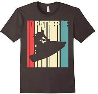 I'd Rather Be Jet Skiing Shirt Vintage and Retro Design