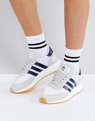 Adidas adidas Originals Iniki Sneakers In White $120 thestylecure.com