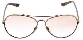 Tom Ford Shelby Leather Sunglasses Shelby Leather Sunglasses