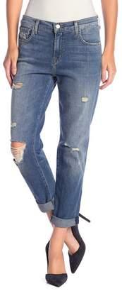 J Brand Johnny Mid-Rise Boyfriend Fit Jeans