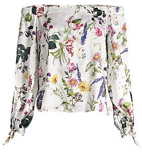 Bailey 44 Women's Tarte Tatin Floral Off-The-Shoulder Blouse