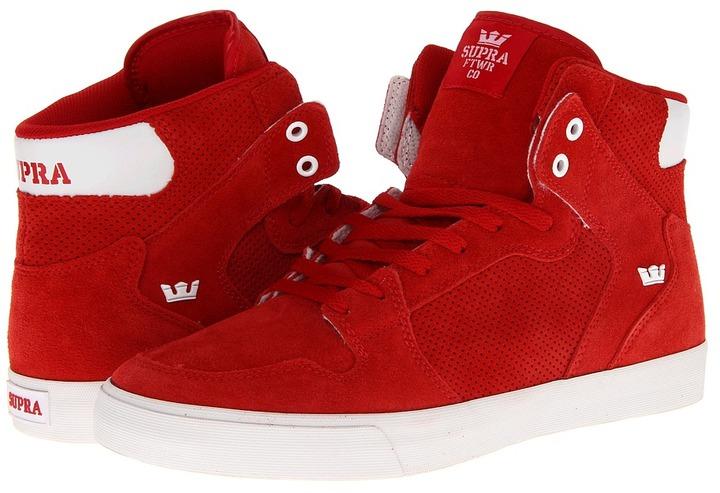 Supra Vaider (Red Suede) - Footwear