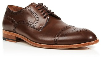 Gordon Rush Calder Cap Toe Derbys $285 thestylecure.com