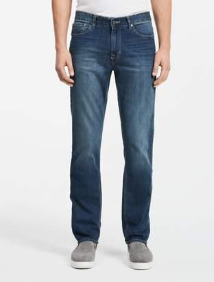 Calvin Klein slim straight leg authentic blue wash jeans