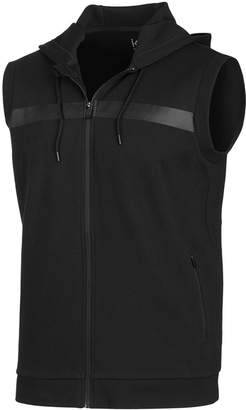 Id Ideology Men's Sleeveless Zip Hoodie