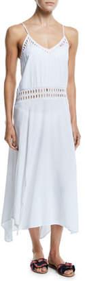 Vix Deana Cutout Long Coverup Dress