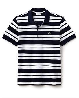 Lacoste Slim Fit Stripe Polo