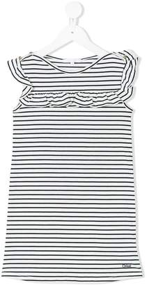 Chloé Kids striped dress