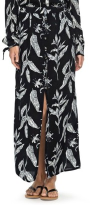 Women's Roxy Speed Of Sound Print Maxi Skirt $49.50 thestylecure.com