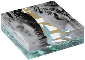 Hermes SOPHIA-ENJOY THINKING - Art Deco & Antinoos Plexi