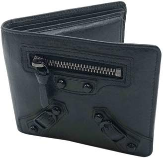 Balenciaga Black Leather Small Bag, wallets & cases