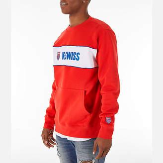 Finish Line Men's K-Swiss My Swiss Fleece Crewneck Sweatshirt