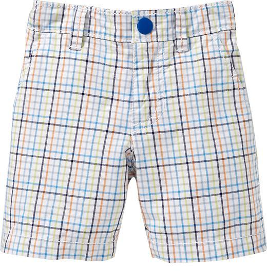 Checkered Shorts for Baby