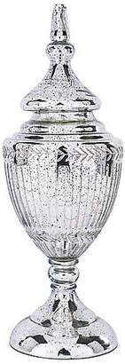 "Barclay Butera For Bradburn Home 25"" Tall Jar - Dappled Silver"