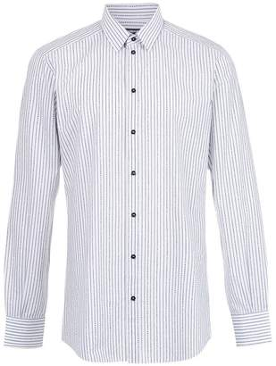 Dolce & Gabbana brand striped printed shirt