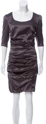 Dolce & Gabbana Silk Ruched Dress Silk Ruched Dress