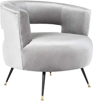 Safavieh Manet Velvet Retro Mid Century Accent Chair