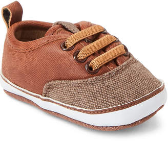 Rising Star (Infant Boys) Brown Low-Top Sneakers
