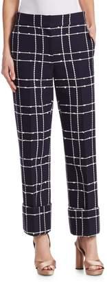 Oscar de la Renta Tweed Pants