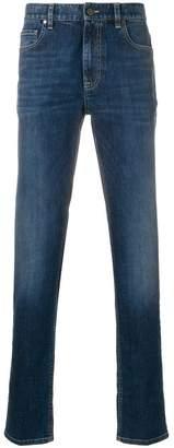 Ermenegildo Zegna stonewashed slim-fit jeans