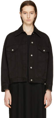 Maison Margiela Black Denim Just Wash Jacket
