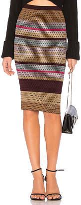 Diane von Furstenberg Knit Mini Skirt