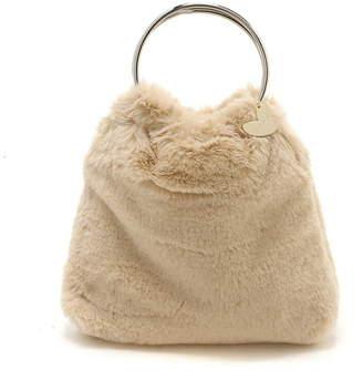 Nina Mew (ニーナ ミュウ) - nina mew リングフェイクファーバッグ ニーナミュウ バッグ