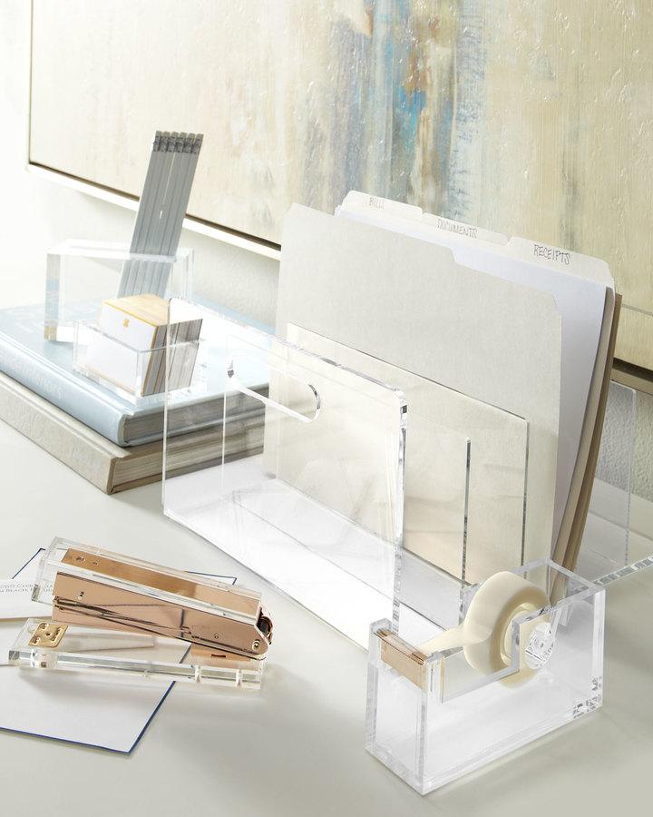 Horchow Acrylic Desk Accessories