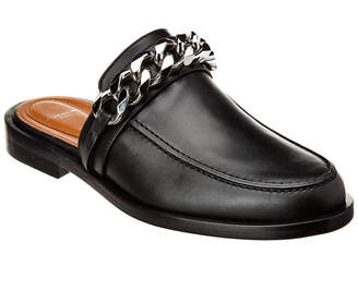 Givenchy Chain Slip-On Leather Loafer