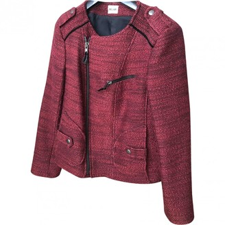 Bel Air Red Wool Jacket for Women