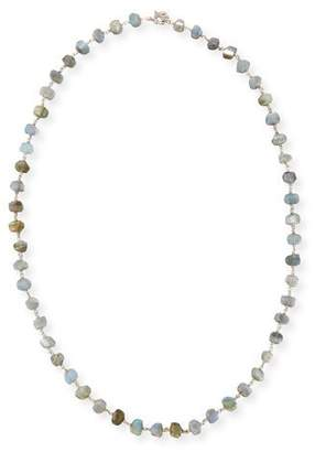 Stephen Dweck Freeform Labradorite Single-Strand Necklace, 32""