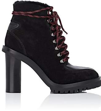 Valentino Women's Suede & Shearling Ankle Boots