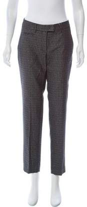 Incotex Patterned Mid-Rise Pants w/ Tags