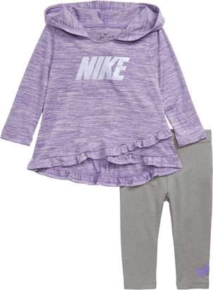 Nike Hooded Top & Leggings Set
