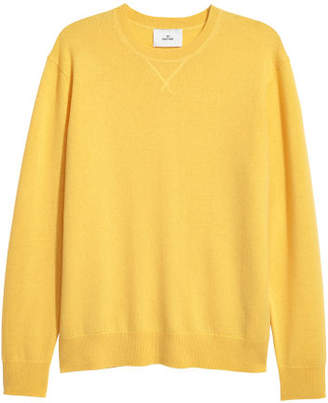 H&M Cashmere Sweater - Yellow