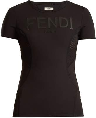 Fendi Logo-print performance T-shirt