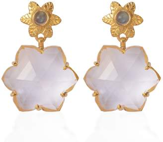 Sylvie Emma Chapman Jewels Crystal Earrings