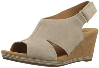 Clarks Women's Helio Float Wedge Sandal