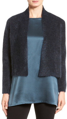 Eileen Fisher Plush Crop Cardigan $298 thestylecure.com