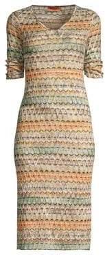 Missoni Zigzag Knit Dress