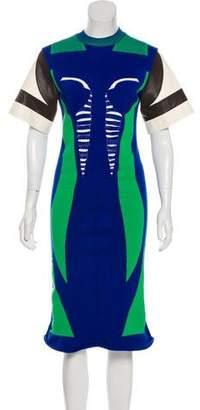 Louis Vuitton Tech Knit Dress