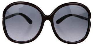 Tom Ford Rhi Oversize Sunglasses