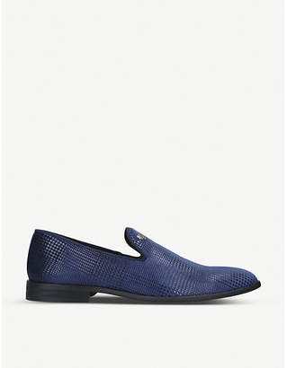 Kurt Geiger London Luca slip-on textile loafers