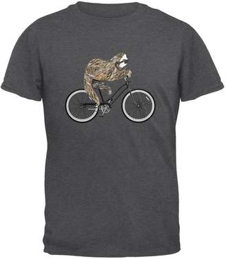 Old Glory Bicycle Sloth Mens T Shirt LG