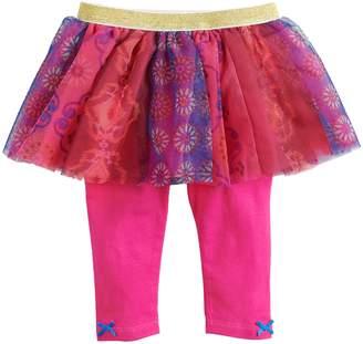 Baby Starters Baby Girl Floral Print Tutu Leggings