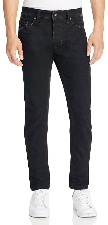 DieselDiesel Thavar Distressed Super Slim Fit Jeans in Denim